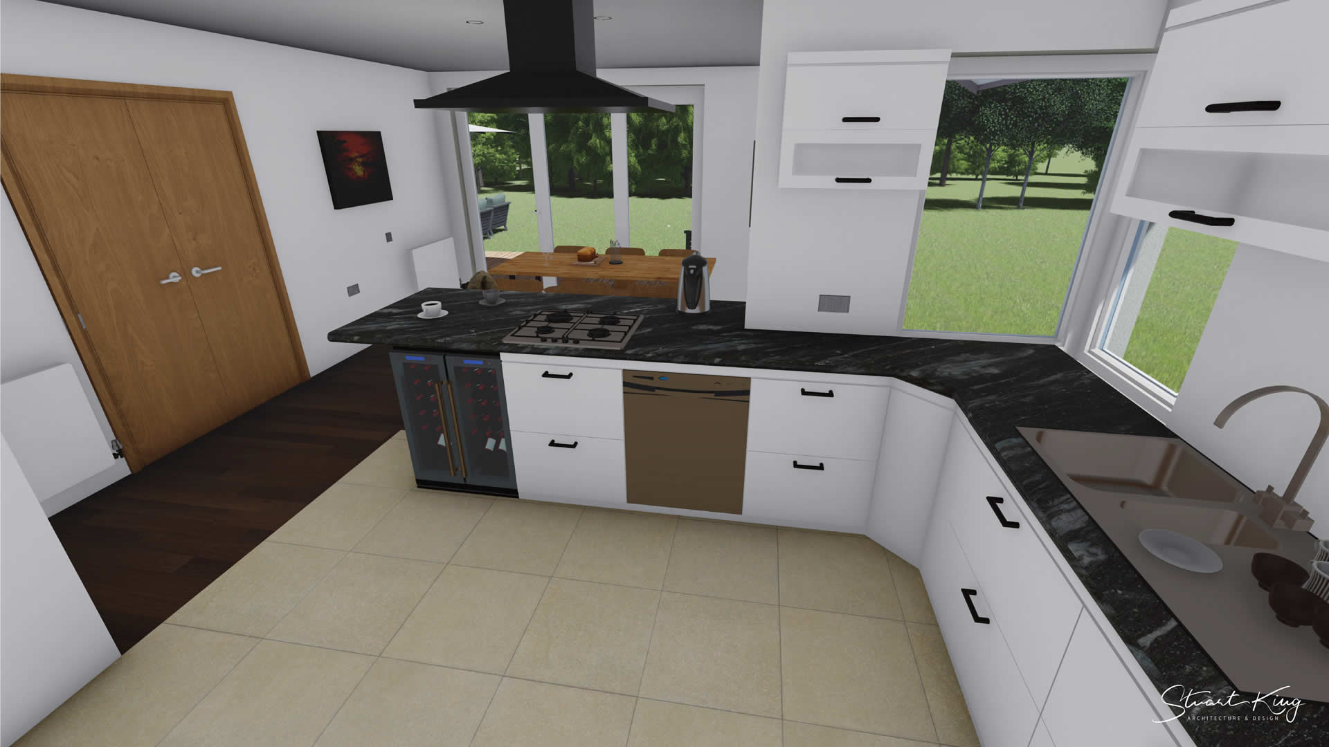 the elms kitchen design